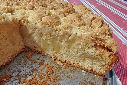 Apfelkuchen mit Butterstreuseln 33