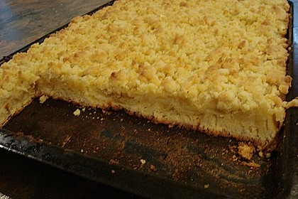 Apfelkuchen mit Butterstreuseln 70