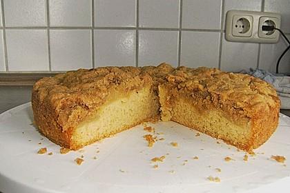 Apfelkuchen mit Butterstreuseln 78