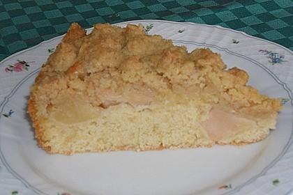 Apfelkuchen mit Butterstreuseln 86