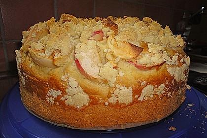 Apfelkuchen mit Butterstreuseln 41