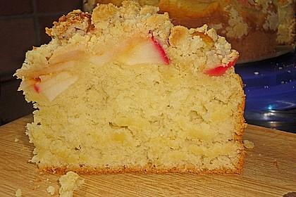 Apfelkuchen mit Butterstreuseln 63