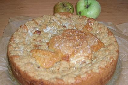 Apfelkuchen mit Butterstreuseln 94