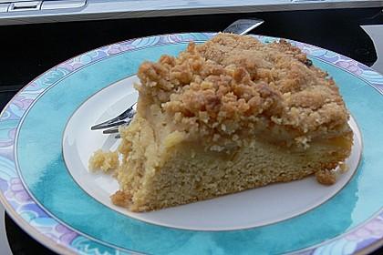 Apfelkuchen mit Butterstreuseln 85