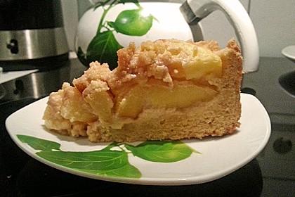 Apfelkuchen mit Butterstreuseln 76