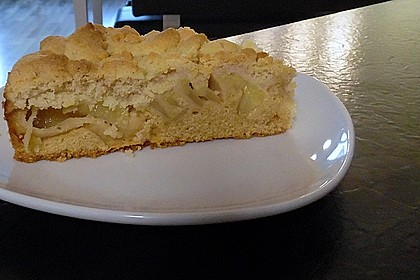 Apfelkuchen mit Butterstreuseln 56