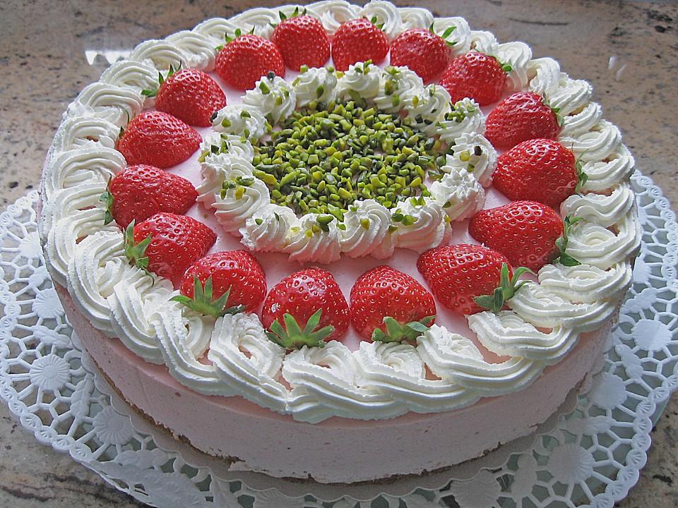 Jannes Erdbeer Mascarpone Torte Von Janne0701 Chefkoch De