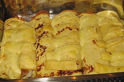 Überbackene Pfannkuchen
