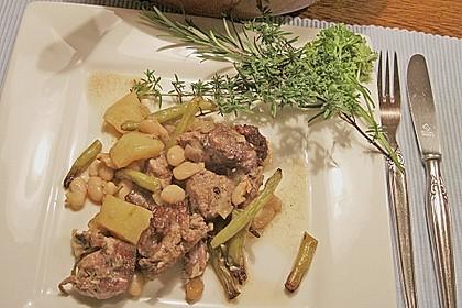 Lammtopf mit Bohnen und Kartoffeln 1
