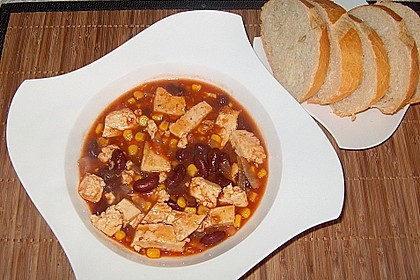 Schnelles Chili con Tofu 3