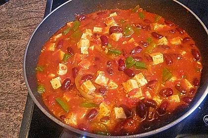 Schnelles Chili con Tofu 6