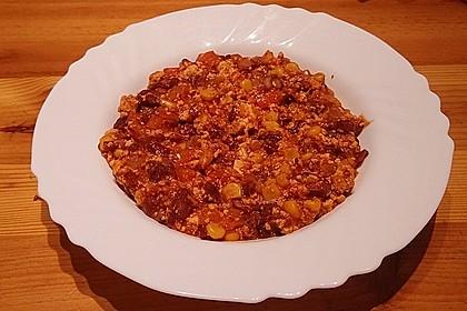 Schnelles Chili con Tofu 4