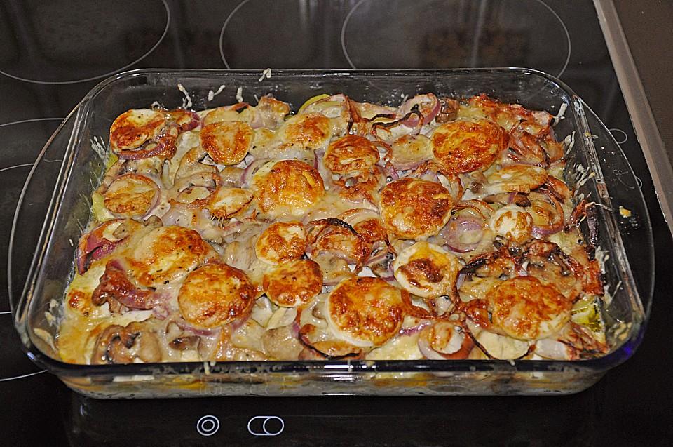 Kartoffel Pilz Auflauf Von Ragazza311 Chefkoch