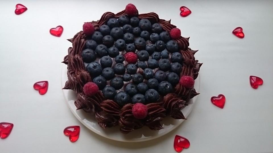 Schokoladenkuchen Susse Sunde Mal Ganz Zart Von Sandy07 Chefkoch De
