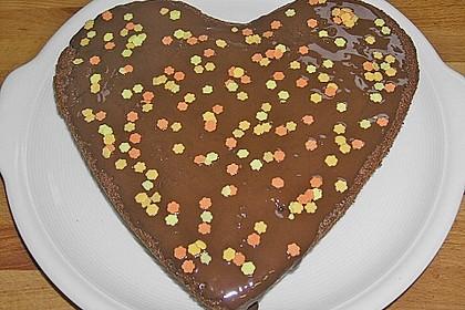 Schokoladenkuchen - süße Sünde mal ganz zart 128