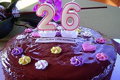 Schokoladenkuchen - süße Sünde mal ganz zart 24