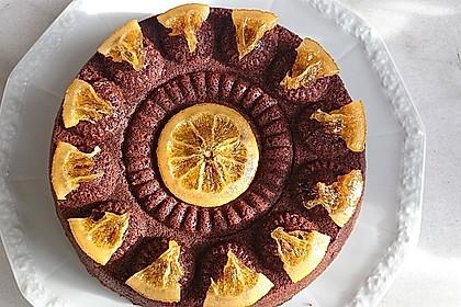 Schokoladenkuchen - süße Sünde mal ganz zart 12