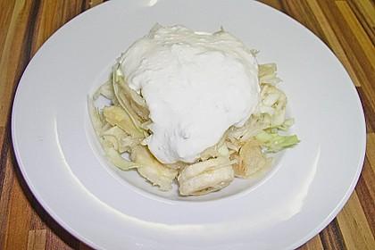 Weißkohlsalat mit Obst