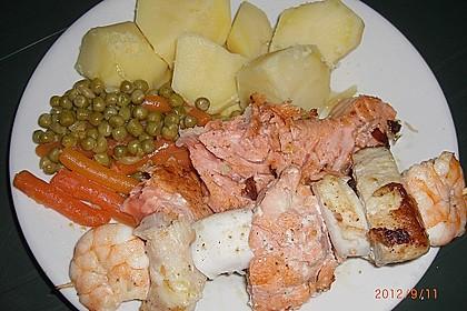 Grill - Fischspieße