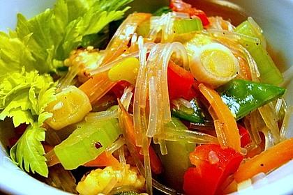 Thai - Glasnudelsalat...Yam Woon Sen 1