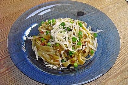 Spaghetti mit Zucchini 5