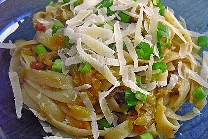 Spaghetti mit Zucchini 6