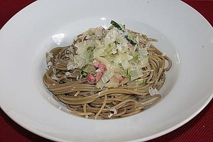Spaghetti mit Zucchini 3