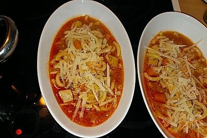 Italienische Hühnersuppe 2