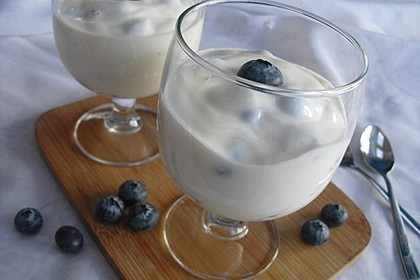 Heidelbeer - Vanille - Quark 1