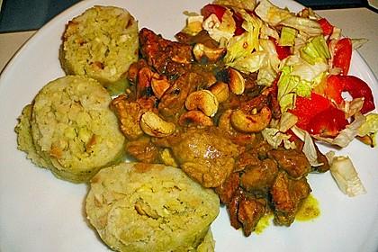 Gebratenes Hühnchen mit roter Currypaste & Cashewnüssen 10