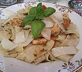 Tomaten - Lachs - Pasta (Bild)