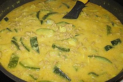 Würzige Zucchini - Hackfleisch - Pfanne 11
