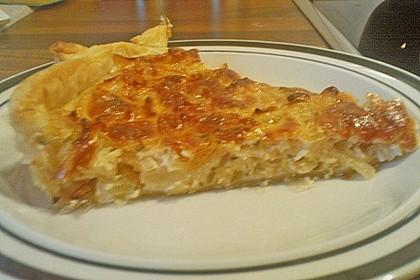 Brillas Zwiebelkuchen mit Käse 34