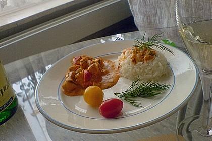 Lachs-Sahnesoße mit Cherrytomaten (Bild)