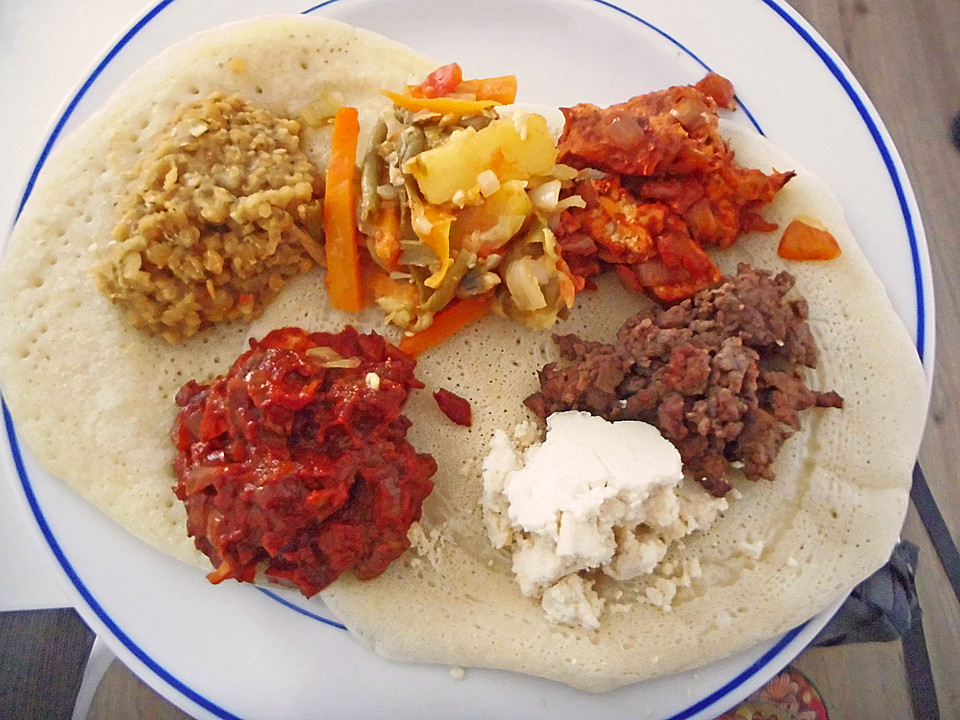 Eritreische Küche Rezepte | Injera Von Snaga Chefkoch De