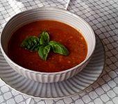 Mexikanische Tomatensuppe (Bild)