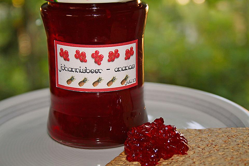 Johannisbeer Marmelade Von Angelika1m Chefkoch