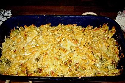 Brokkoli - Käse - Nudelauflauf 2