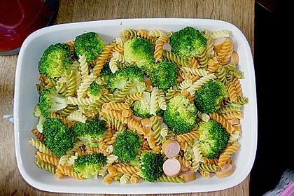 Brokkoli - Käse - Nudelauflauf 13