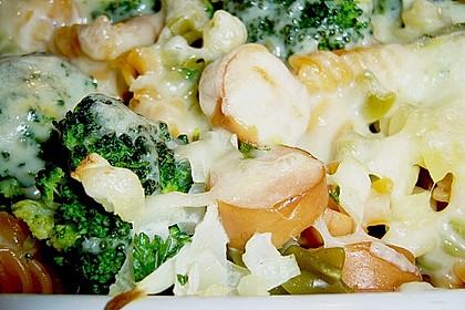 Brokkoli - Käse - Nudelauflauf 1
