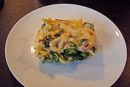Brokkoli - Käse - Nudelauflauf 6