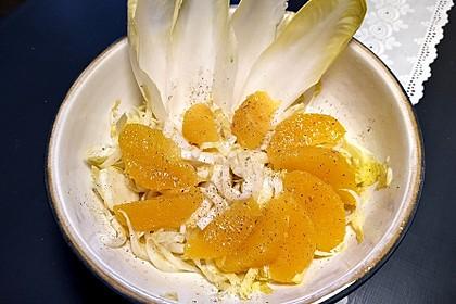 Chicoréesalat mit Orangen (Bild)