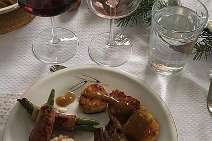 Chateaubriand mit Speckbohnen, Macaire - Kartoffeln und Sauce Béarnaise 22