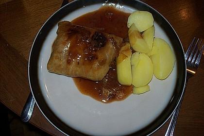 Kohlrouladen mit Kümmelkartoffeln 23