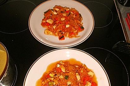 Sauerkrautsalat mit einer asiatischen Note 2