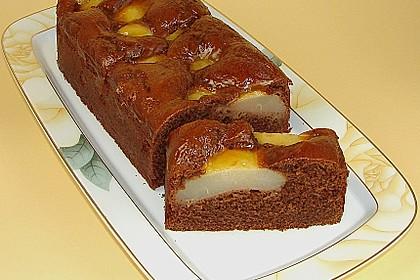 Birnen - Schokolade - Kuchen 5