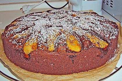 Birnen - Schokolade - Kuchen 76