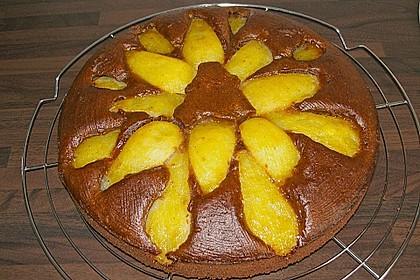 Birnen - Schokolade - Kuchen 87