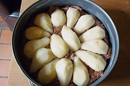 Birnen - Schokolade - Kuchen 91