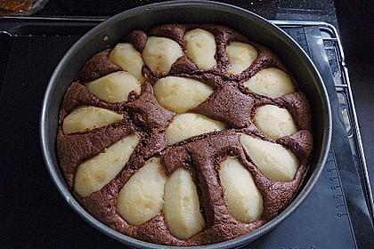 Birnen - Schokolade - Kuchen 44
